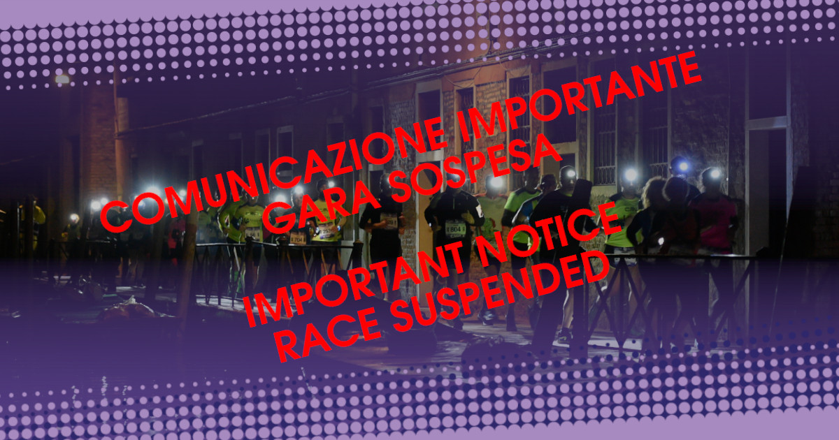 race suspended